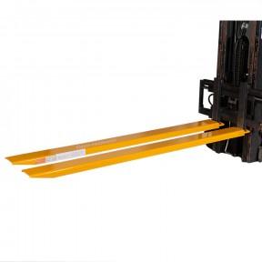 Rallonges de fourches 2085 mm en acier pour chariot élévateur