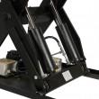 Double vérin de la Table élévatrice électrique plateau 1300x100mm 2000 Kg 380V